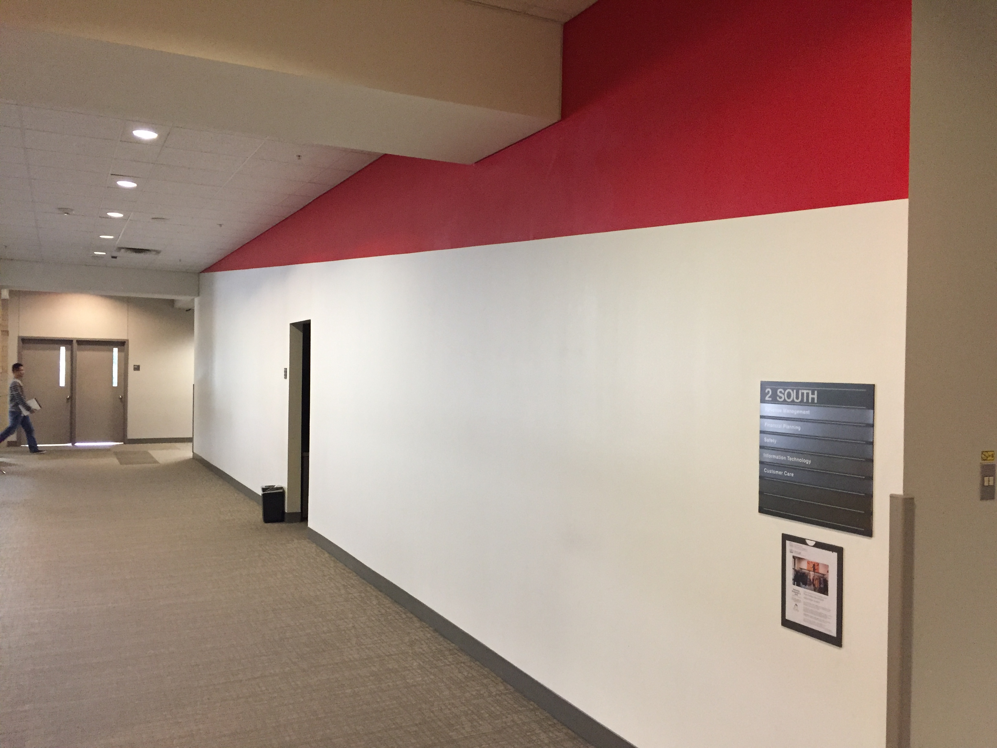 AA HQ core paint wall